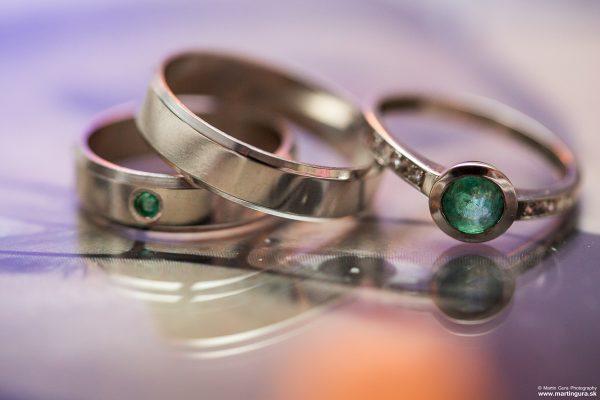 netradičné svadobné prstene