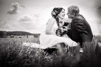 Svadobné fotografie v prírode