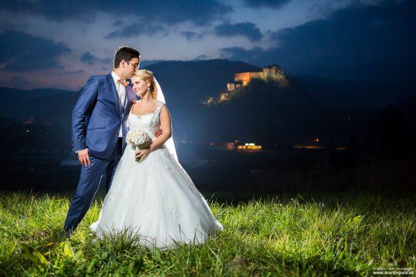 hrad - svadobná fotografia