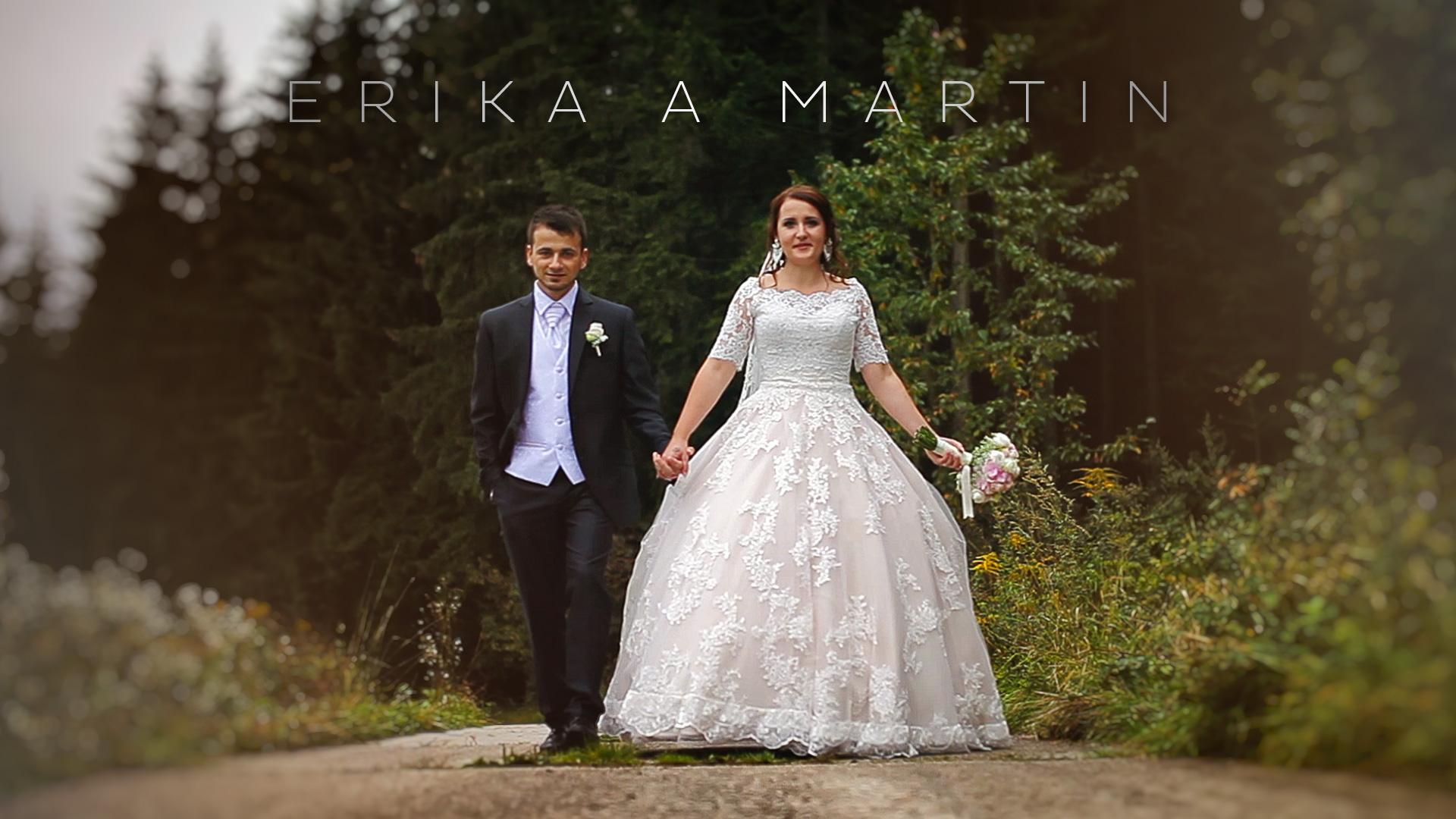 Erika a Martin Svadobné video