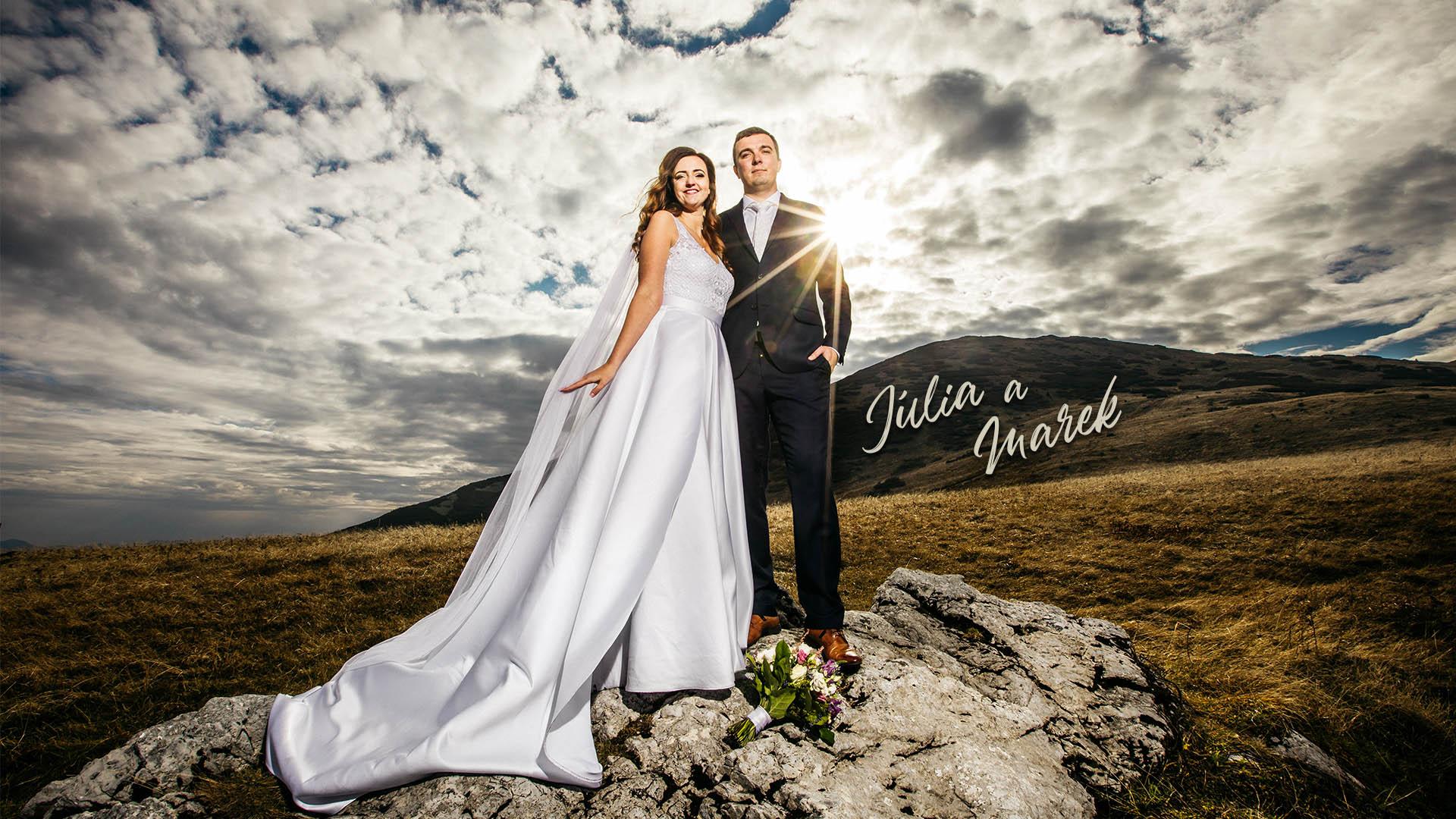 Júlia a marek svadobné video